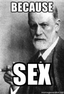 Freud está de acuerdo conmigo.