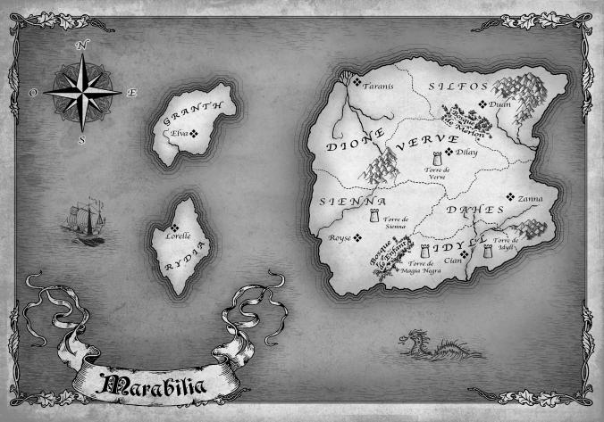 Mapa de Marabilia, realizado por Lehanan Aida