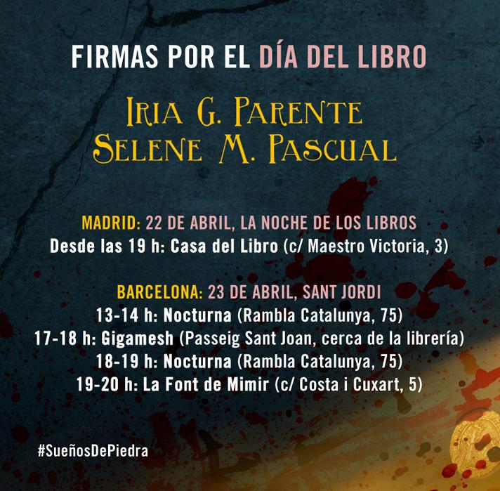 Firmas SDP Sant Jordi y Noche de los Libros copia